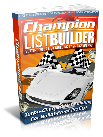 Champion List Builder bonus package